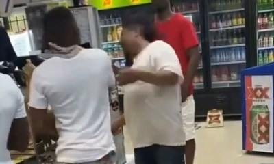 Boosie slaps man at DaBaby video shoot