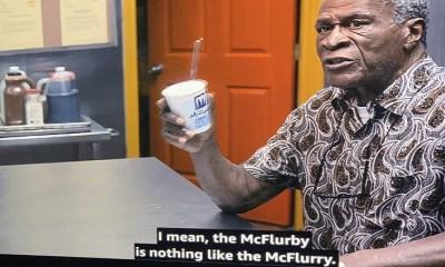 Cleo McDowell John Amos McFlurby McFlurry McDowell's McDonald's
