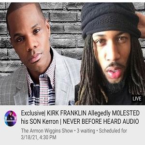 Kirk Franklin accused of molesting estranged son Kerrion Franklin