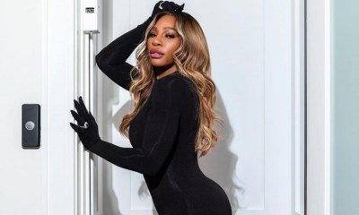 Serena Williams catsuit Instagram