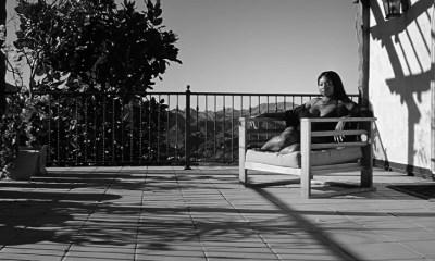 Summer Walker Sitting on Patio