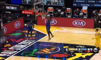 Zion misses alley-oop dunk NBA All-Star Game