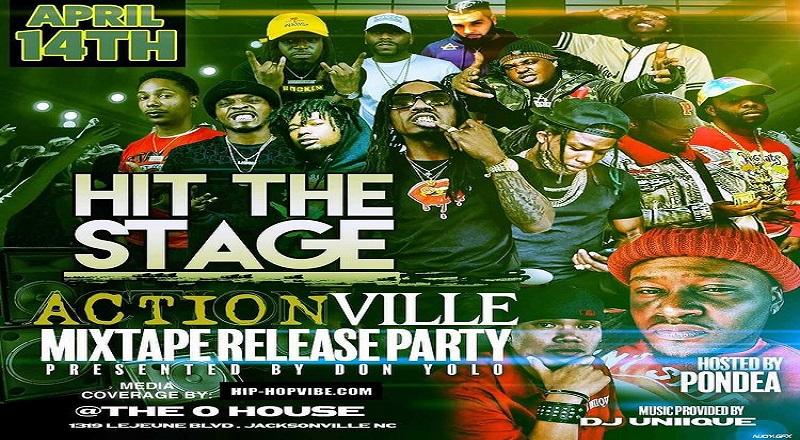 Actionville mixtape release party