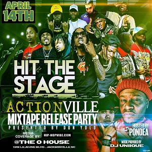 Actionville mixtape release party