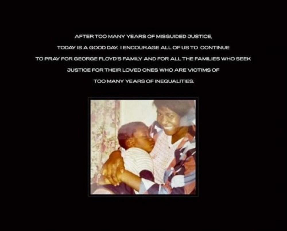 Beyonce Derek Chauvin George Floyd