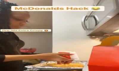 Camille Crowns @camillecrowns McDonald's hack