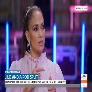 Jennifer Lopez Alex Rodriguez break up