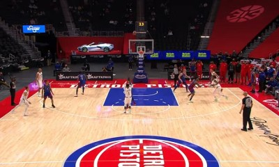 Reggie Jackson game winner vs Pistons