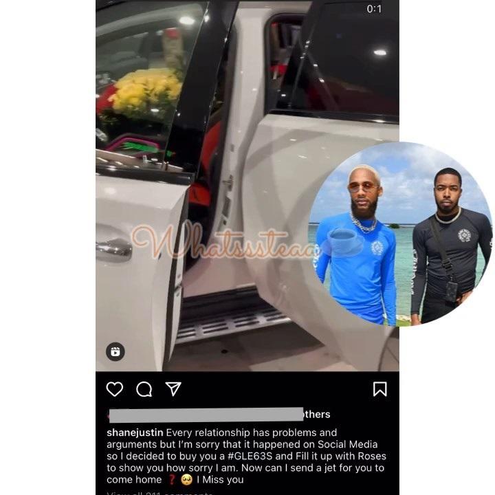 Shane Justin GSUWOO apology Mercedes SUV