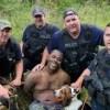 Eric Boykin Mississippi arrest police dogs pose pic