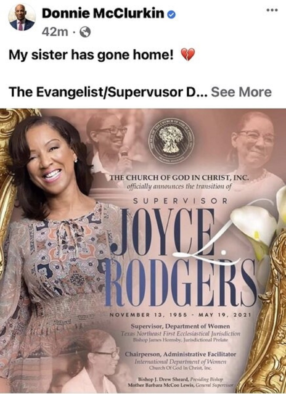 Joyce Rodgers dead