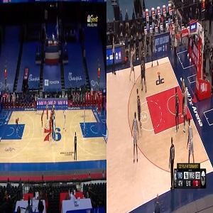 Sixers in 5 Philadelphia 76ers Washington Wizards NBA playoffs