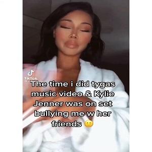 Victoria Vanna Kylie Jenner Tyga video shoot