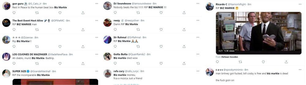 Biz Markie died at age 57