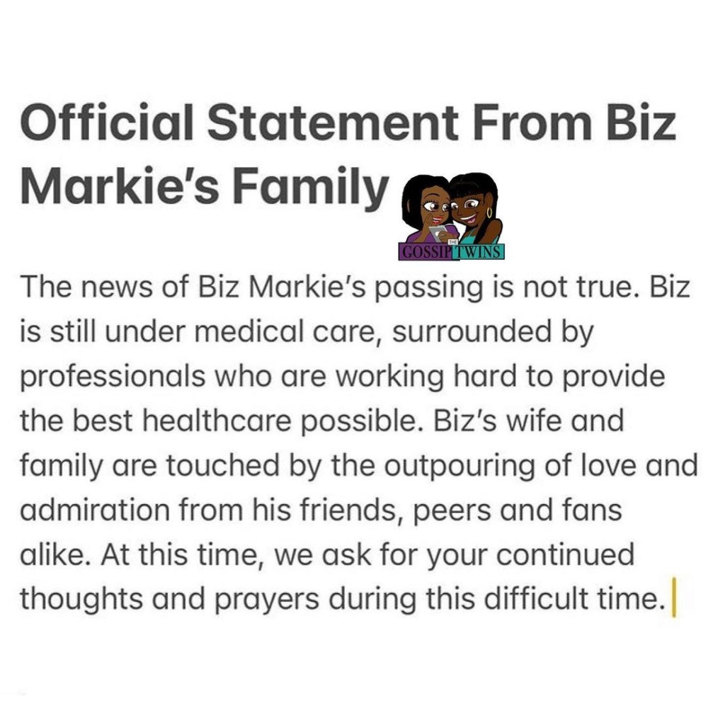 Biz Markie is still alive