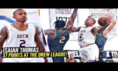 Isaiah Thomas scores 37 points at Drew League