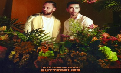 MAX and Ali Gatie team up with Jean Tonique for the Butterflies remix