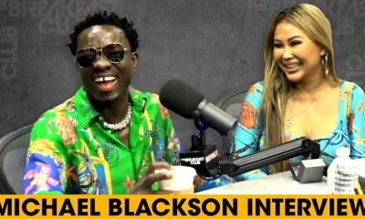 Michael Blackson proposes to his girlfriend on The Breakfast Club