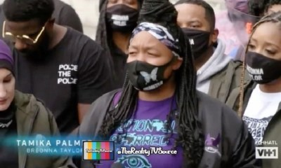 Yandy and Mendeecees attend Breonna Taylor protest
