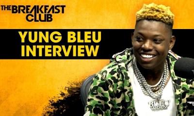 Yung Bleu talks Moonboy album on The Breakfast Club