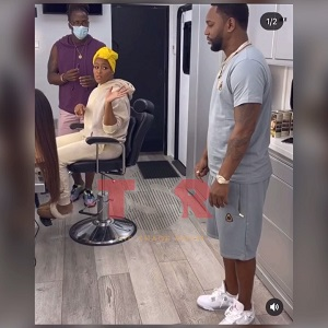 Eve makes Cam'ron get her a sandwich