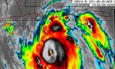 Hurricane Ida upgraded to Category 4