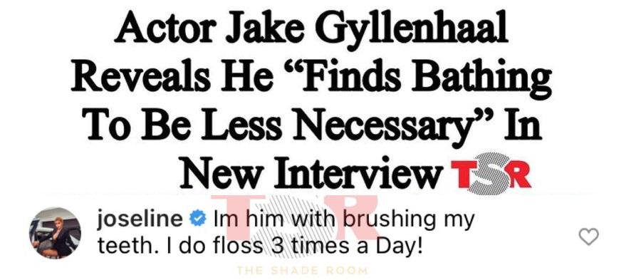 Joseline Hernandez doesn't brush her teeth every day