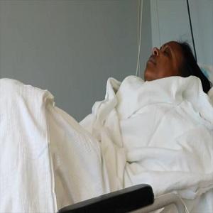 Kandi Burruss shares her breast reduction surgery journey