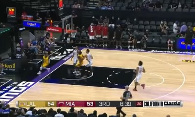 Miami Heat defeat the LA Lakers during Summer League, on August 3, 2021