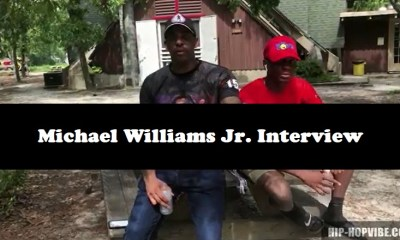 Michael Williams Jr. and Sr. talk boxing, PBM movement, and Fayetteville showing love