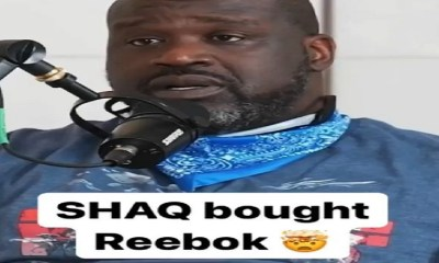 Shaq bought Reebok