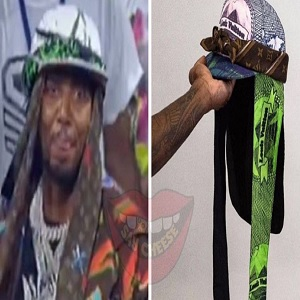 Virgil Abloh designed the hat and bandana Juelz Santana wore during Verzuz