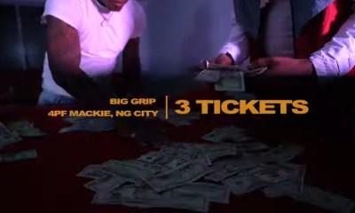 Big Grip 3 Tickets music video