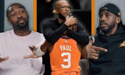 Chris Paul talks losing in NBA Finals with Gilbert Arenas