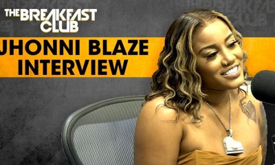 Jhonni Blaze talks songwriting, mental illness, and using her voice for more than music on The Breakfast Club