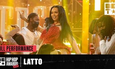 Big Latto BET Hip Hop Awards performance