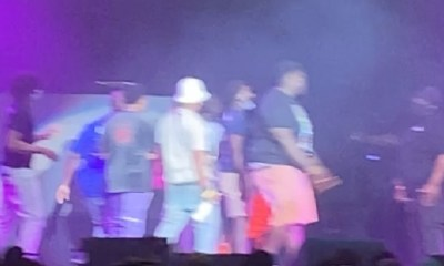 Boosie performance interrupted by fight, at Legendz of the Streetz concert, in Atlanta