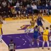 Carmelo Anthony pump fakes free throw