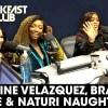 Eve, Brandy, and Naturi Naughton talk Queens on The Breakfast Club