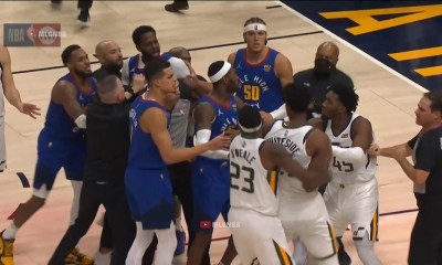 Hassan Whiteside and JaMychael Green got into a fight