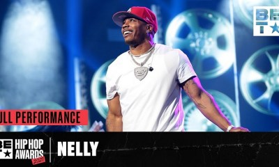 Nelly performs a medley of his hits at the BET Hip Hop Awards