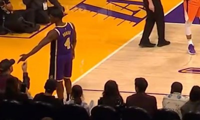 Rajon Rondo gets fan ejected for slapping his hand away