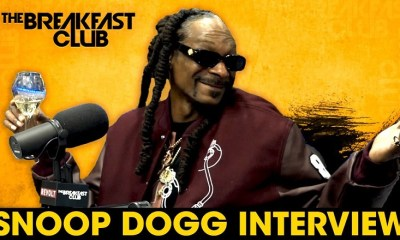 Snoop Dogg talks new Def Jam role, losing his mother on The Breakfast Club