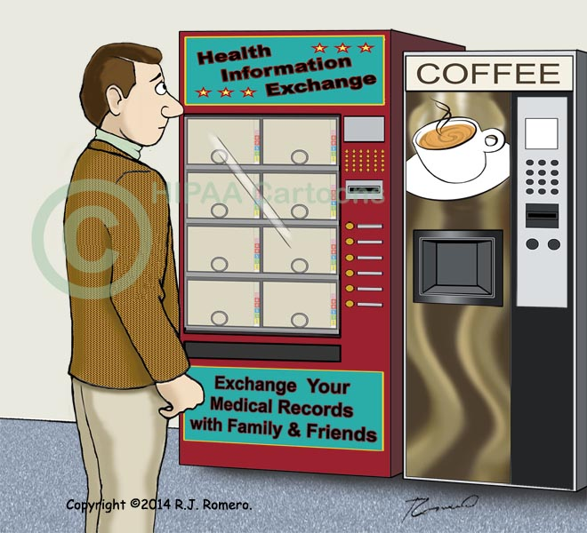 Cartoon-Patient-sees-vending-machine-in-medical-records_emr146