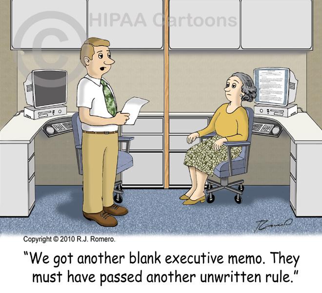 Cartoon-worker-tells-coworker-blank-memo-means-unwritten-rule_b107