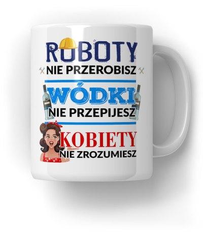 Robota,-Wódka,-Kobieta-Kubek-Prezent