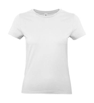 #E190 B&C Biała Koszulka Nadruk