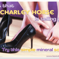 What that Charley Horse is telling you…