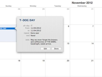 T Dog Day