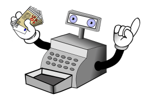 machine with money